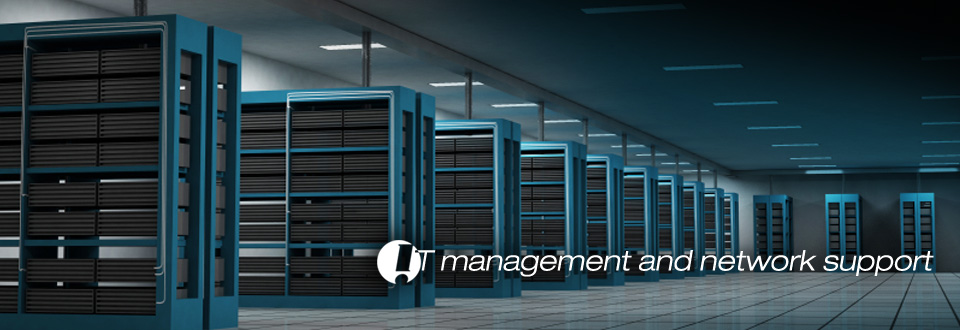banner for IT Management & Network Support